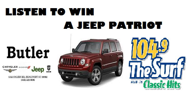 Win A Jeep Wrangler From 104 9 The Surf And Butler Chrysler Dodge